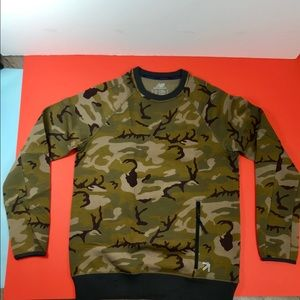 men's New Balance for JCrew sweatshirt, M, Camo